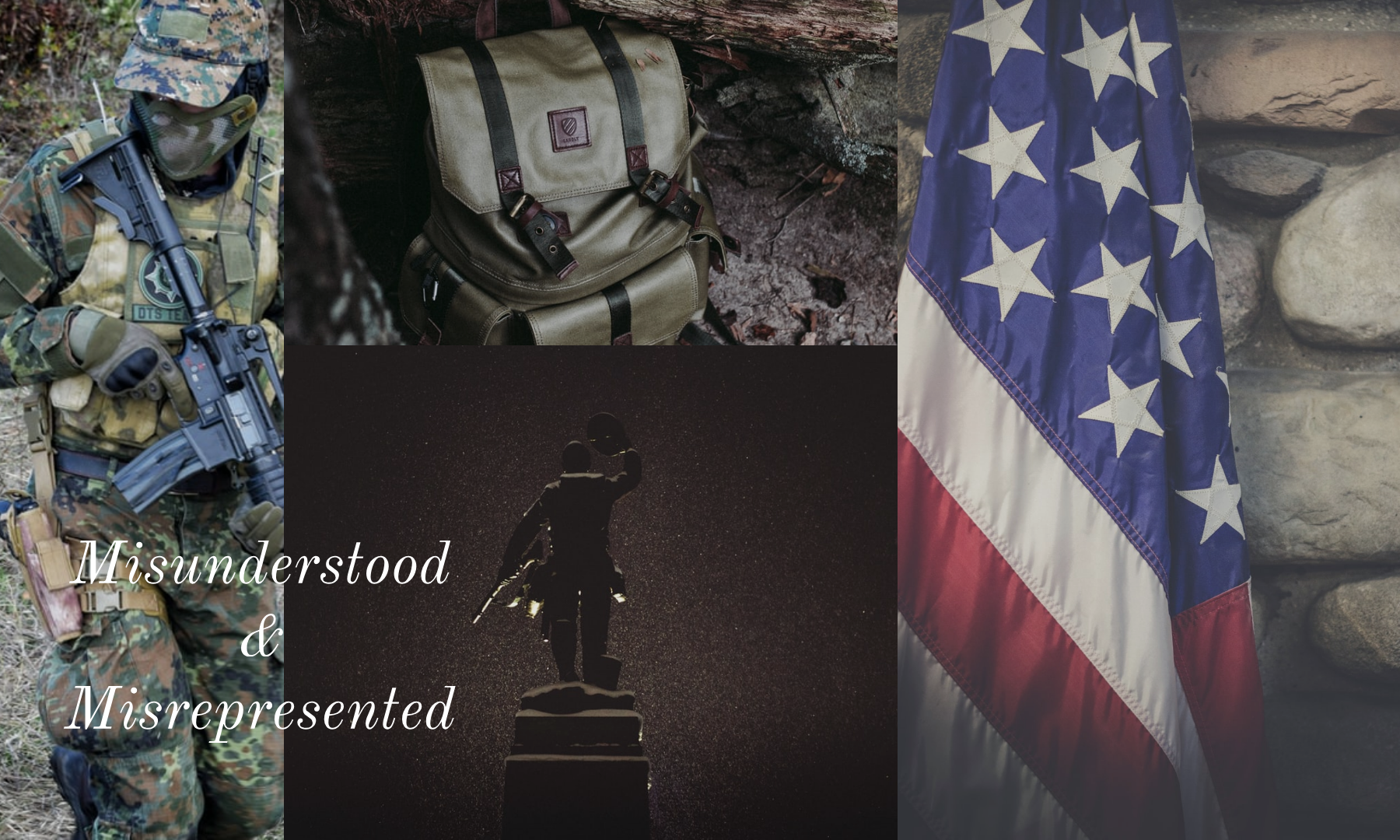 Soldiers-war-ptsd-backpack-american-flag-text-misunderstood-misrepresented